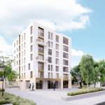 Facades residential building