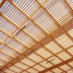 Retail architecture using Douglas wood