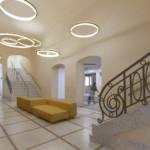 Lobby interior design and restoration