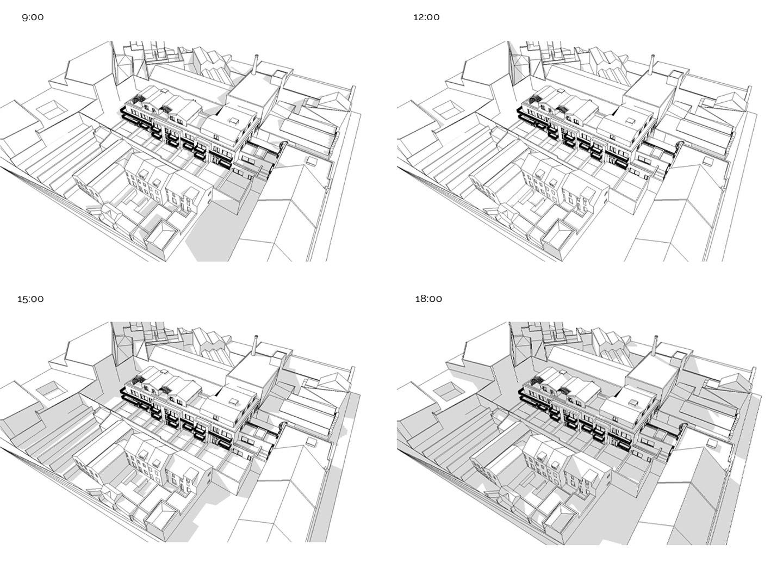 architecture shading study