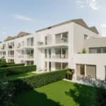 Apartments providing individual garden space