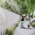 Landscape project with focus on community, environment and safety