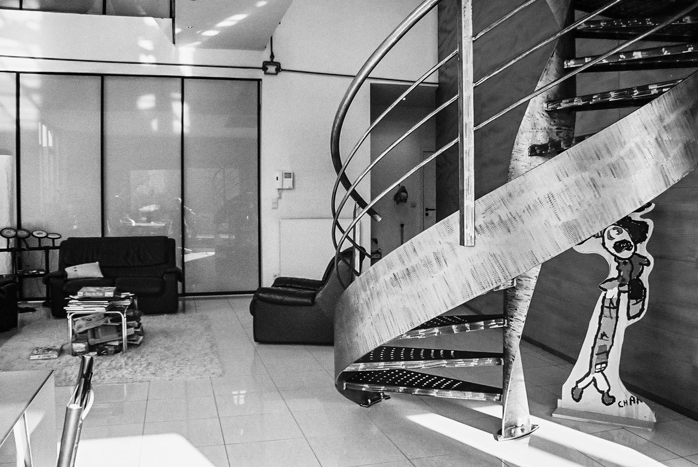 Duplex apartment design