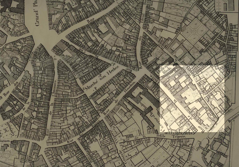Plan Goffaux. Ville de Mons